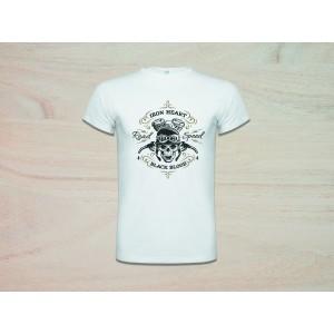 Camiseta poliéster manga corta