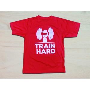 Camiseta poliéster manga corta basic