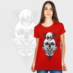 Camiseta mujer manga corta básica personalizada