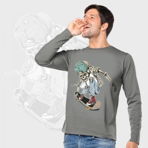 Camiseta manga larga personalizada