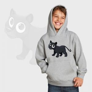 Sudadera niños con capucha personalizada