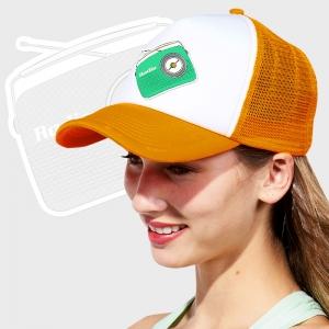 Gorra de malla de 5 paneles personalizada