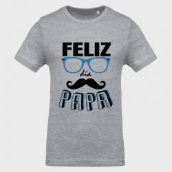 Camiseta Día del Padre: feliz día papa