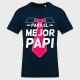 Camiseta Día del Padre: feliz para el mejor papi