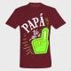 Camiseta Día del Padre: papa tú eres el número 1