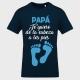 Camiseta Día del Padre: te quiero de la cabeza a lo pies