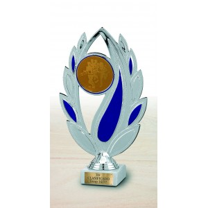 Trofeo hojas con disco