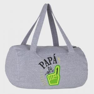 Bolsa de deporte Día del Padre: papa tú eres el número 1