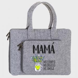 Maletín fieltro Día de la madre: Te quiero mami