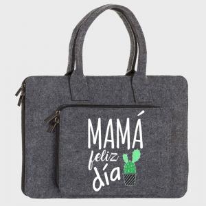 Maletín fieltro Día de la madre: Mamá feliz día