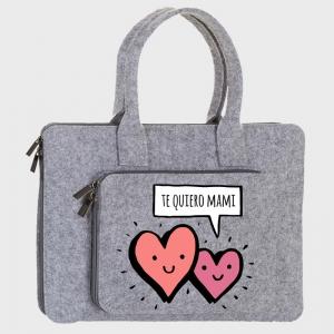 Maletín fieltro Día de la madre: Te quiero mamá