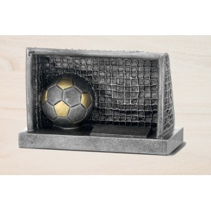Trofeo porteria con balón