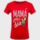 Camiseta Día de la Madre: mamá feliz día