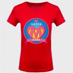 Camiseta Día de la Madre: super mamá