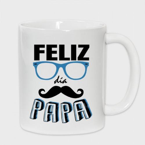 Taza Día del Padre: feliz día papá