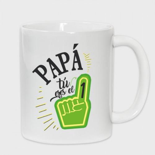 Taza Día del Padre: eres el número uno