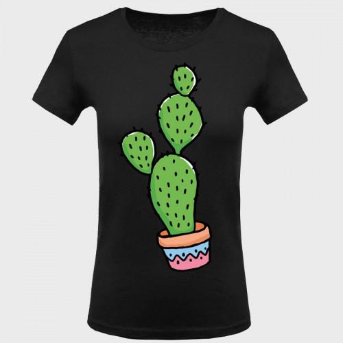 Camiseta mujer: cactus