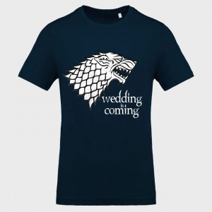 Camiseta despedida de soltero: wedding is coming