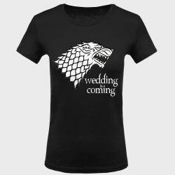 Camiseta despedida de soltera: wedding is coming