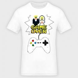 Camiseta despedida de soltero: game over