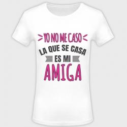 Camiseta despedida de soltera: yo no me caso