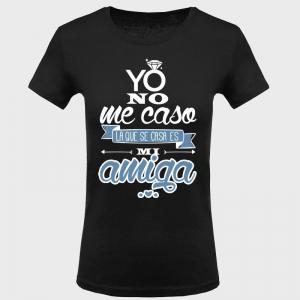 Camiseta despedida de soltera: yo no