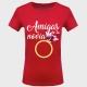 Camiseta despedida de soltera: amigas de la novia