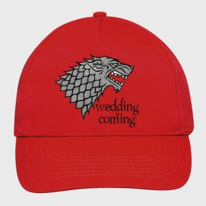 Gorra despedida de soltera: wedding is coming