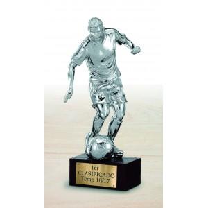 Trofeo jugador fútbol