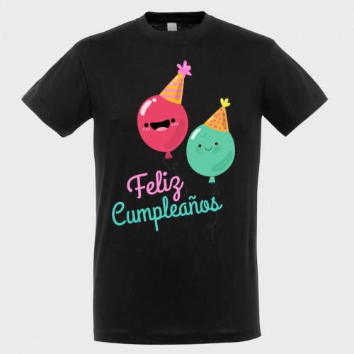 Camiseta cumpleaños: feliz cumple
