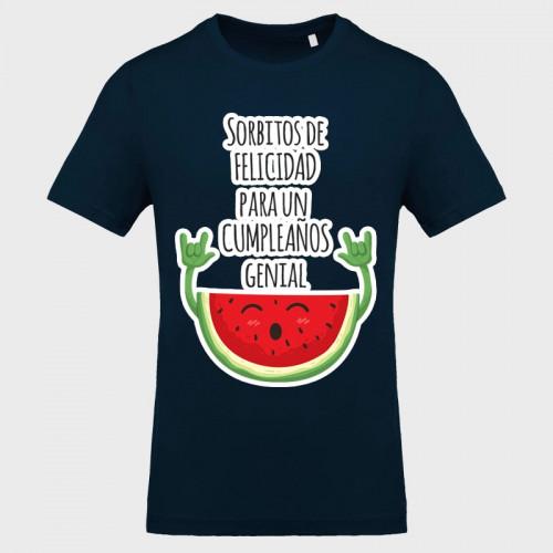 Camiseta cumpleaños: sorbitos de felicidad