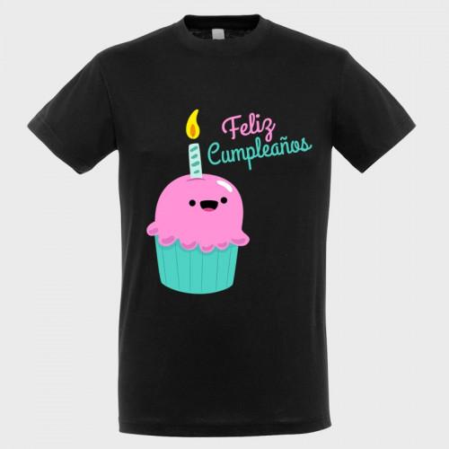Camiseta cumpleaños: feliz cumpleaños