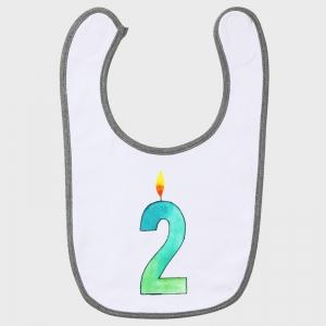 Babero cumpleaños: sorbitos de felicidad