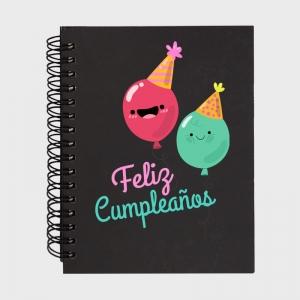 Libreta cumpleaños: feliz cumple