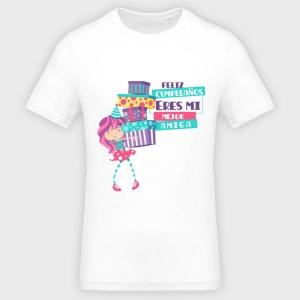 Camiseta cumpleaños: mi mejor amiga