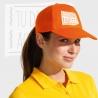 Gorra de visera curva personalizada