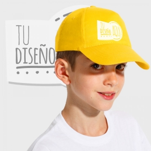 Gorra de visera curva para niños