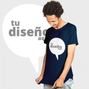 Camiseta manga corta básica personalizada