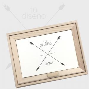 Caja de madera para joyas personalizada