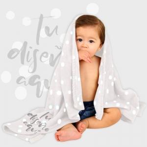Manta cuna bebé personalizada