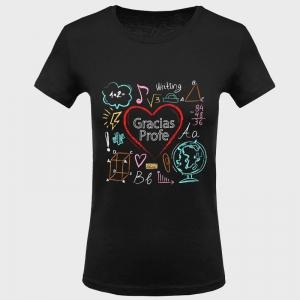 Camiseta para profesora: gracias