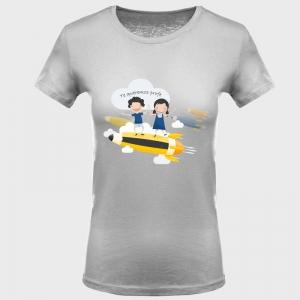 Camiseta para profesora: lápiz