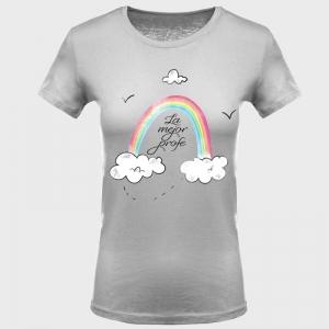 Camiseta para profesora: arco iris