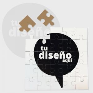 Puzzle 25 piezas de madera personalizado personalizado