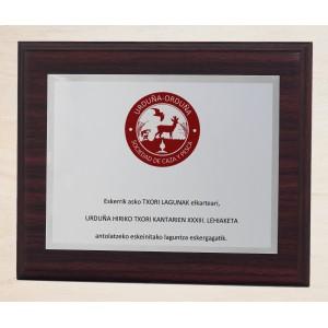 Placa de aluminio rectangular especial para sublimación