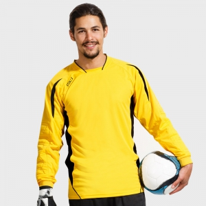 Camiseta deportiva portero personalizada