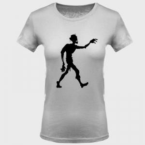 Camiseta mujer halloween: zombie