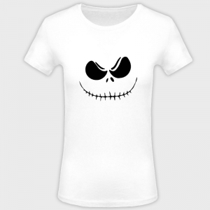 Camiseta mujer halloween: jack