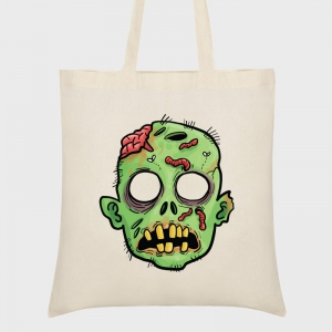 Bolsa tela halloween: esqueletos