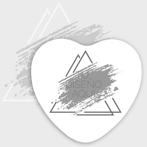 Posavasos corazón personalizado
